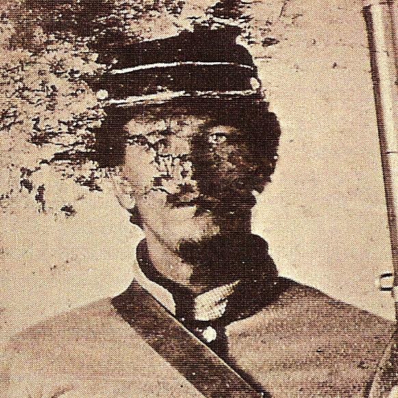 Lt. Enoch Williams, Co. C, 40th MS Infantry, CSA