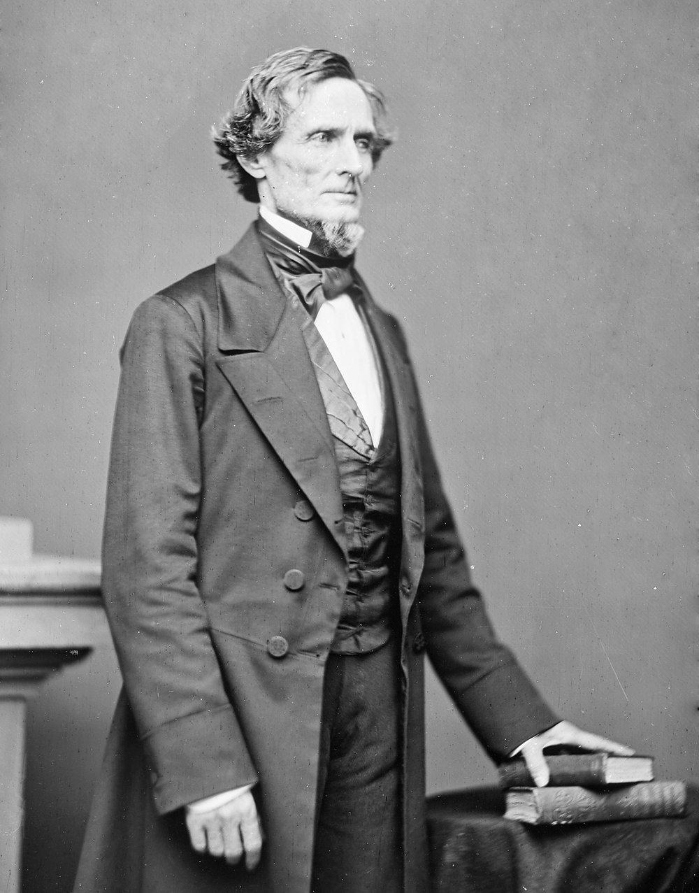 Confederate President Jefferson Davis. Courtesy of the Library of Congress.