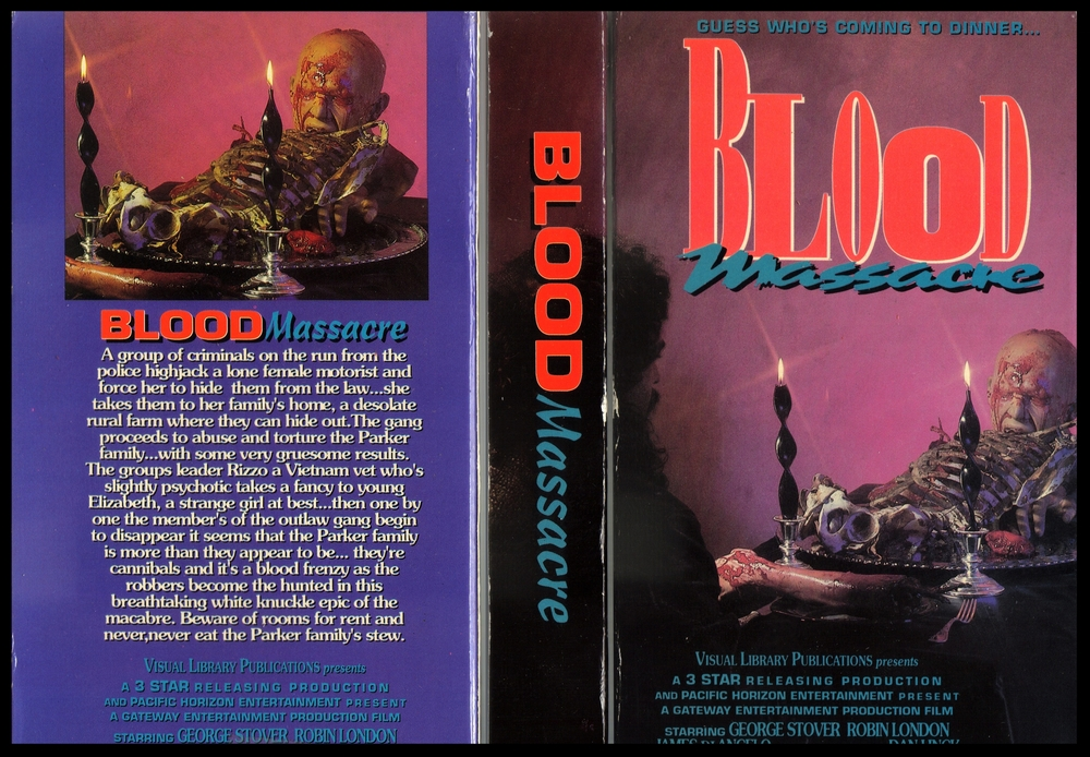 Blood Massacre VHS cover