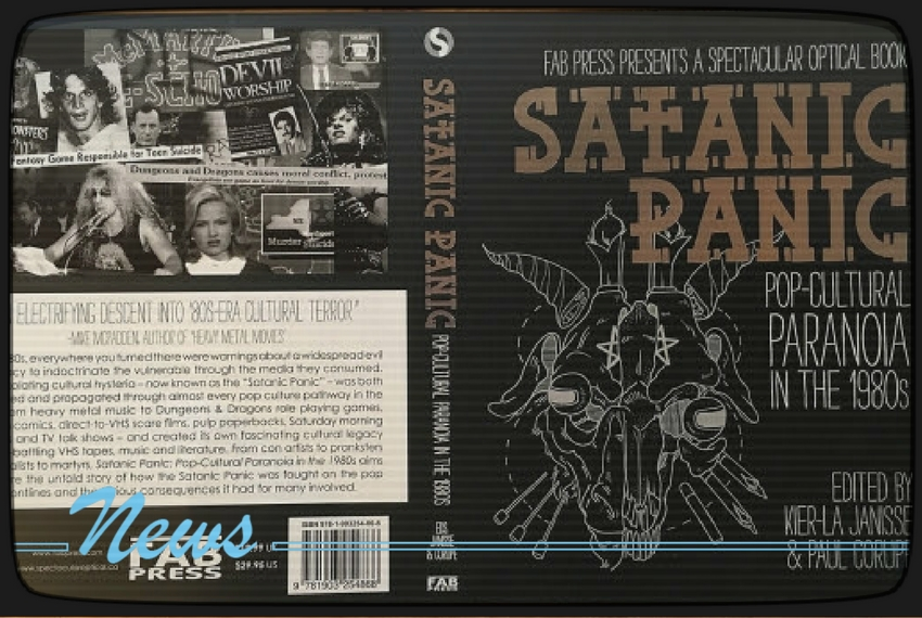 Satanic Panic Now Available Via Fab Press The After Movie Diner