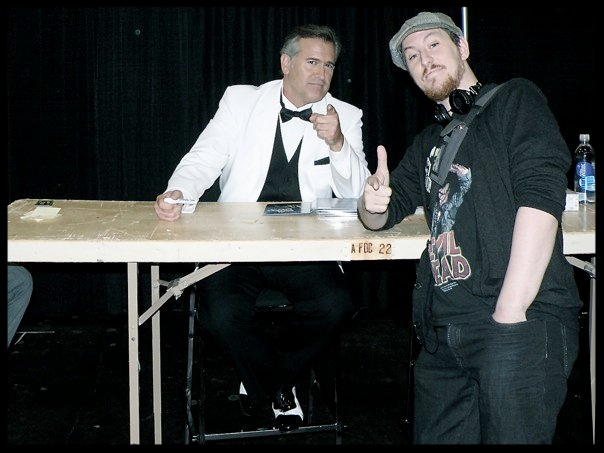 Bruce Campbell  and Me at New York Comic-Con 2010