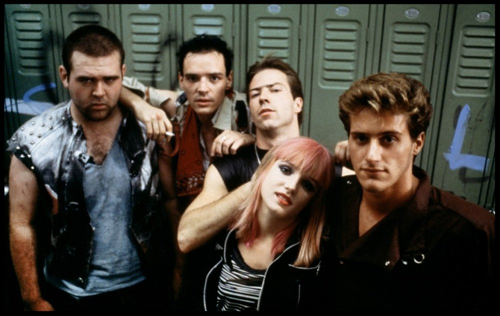 Awww, the cuddliest bunch of punks you ever did see.
