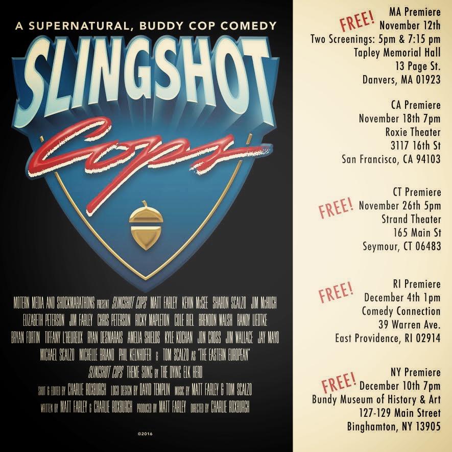 Slingshot Cops premiere