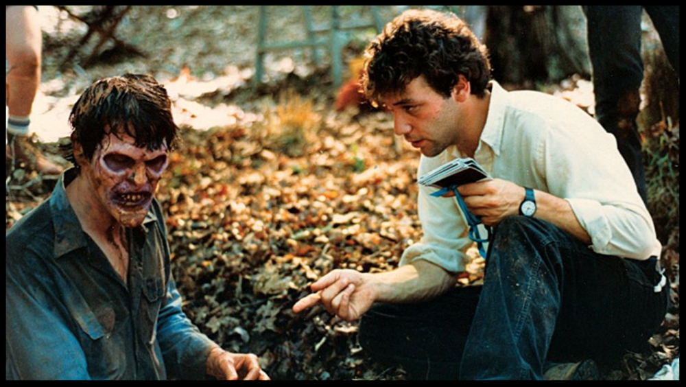 "Director  Sam Raimi  ""Plays  Bruce  like a video game"" in the   Evil Dead 2   puddle sequence"