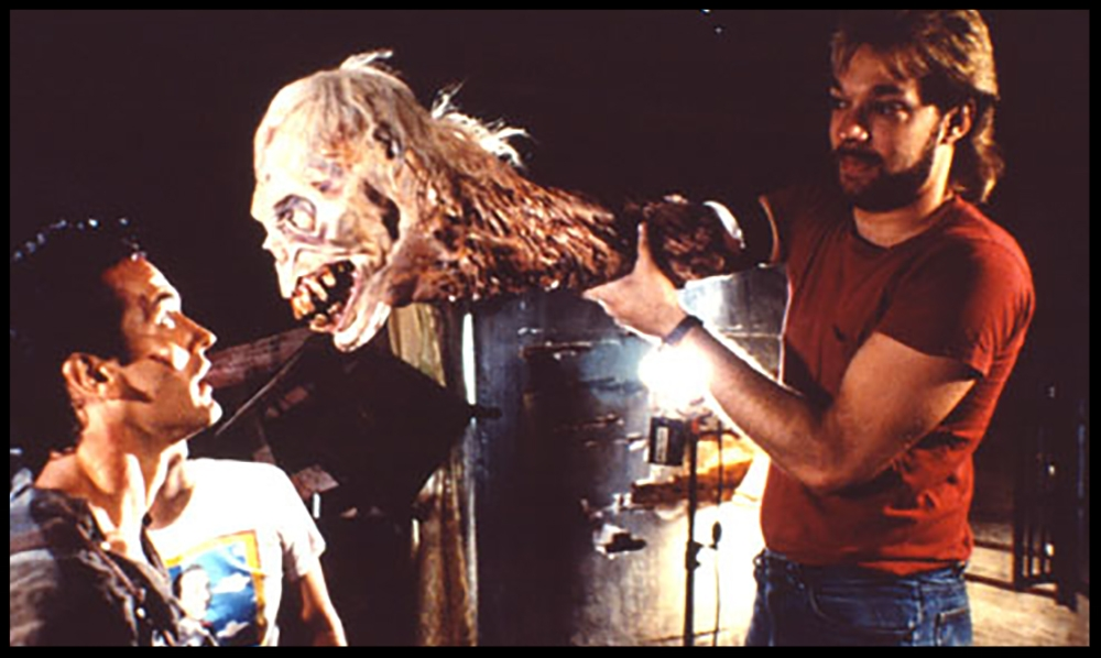 Greg Nicotero  puppeters the Henrietta head in some of the film's final scenes