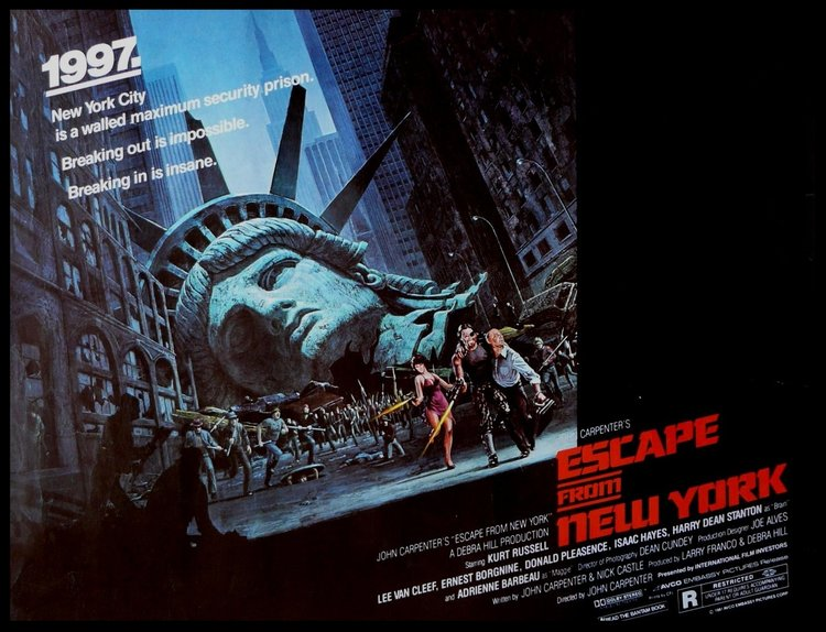 Escape From New York Poster.Escape From New York The After Movie Diner