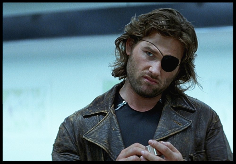 Kurt Russell as Snake Plissken