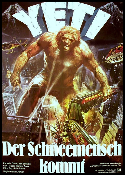 Yeti: Giant of the 20th Century Movie Poster German