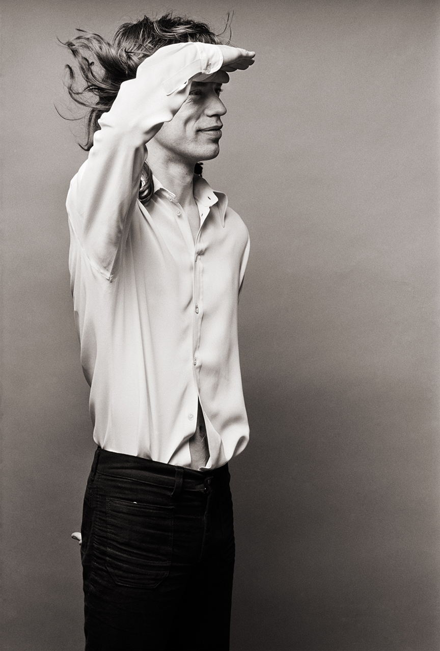 Mick Jagger - Photo credit: Norman Seeff.