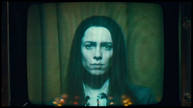 Christine's inner torment is unmistakably present in the expressive eyes of Rebecca Hall.