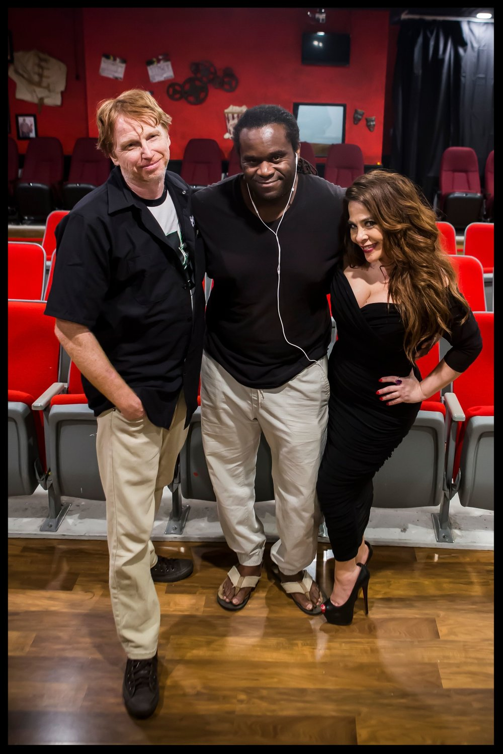 Courtney Gains & Markus Redmond & Brooke Lewis
