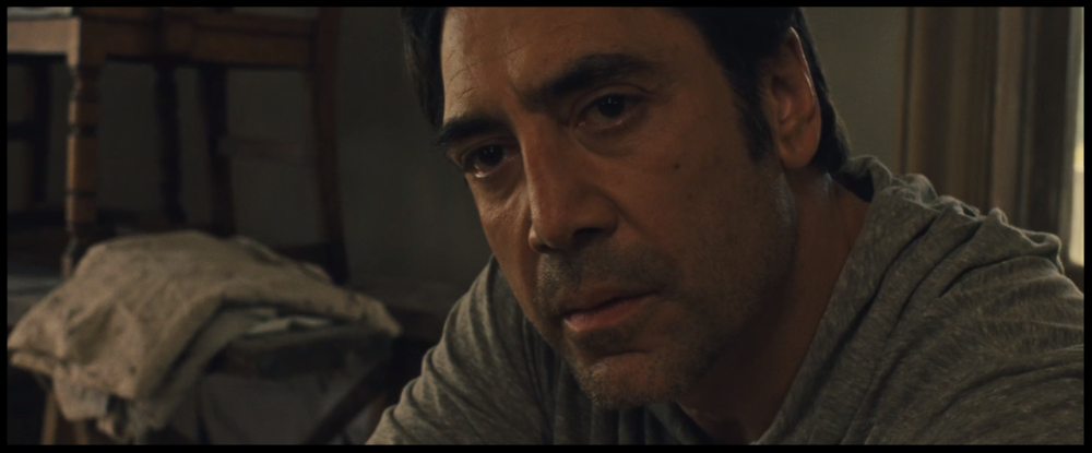 How much more Bardem could this be? None. None more Bardem.