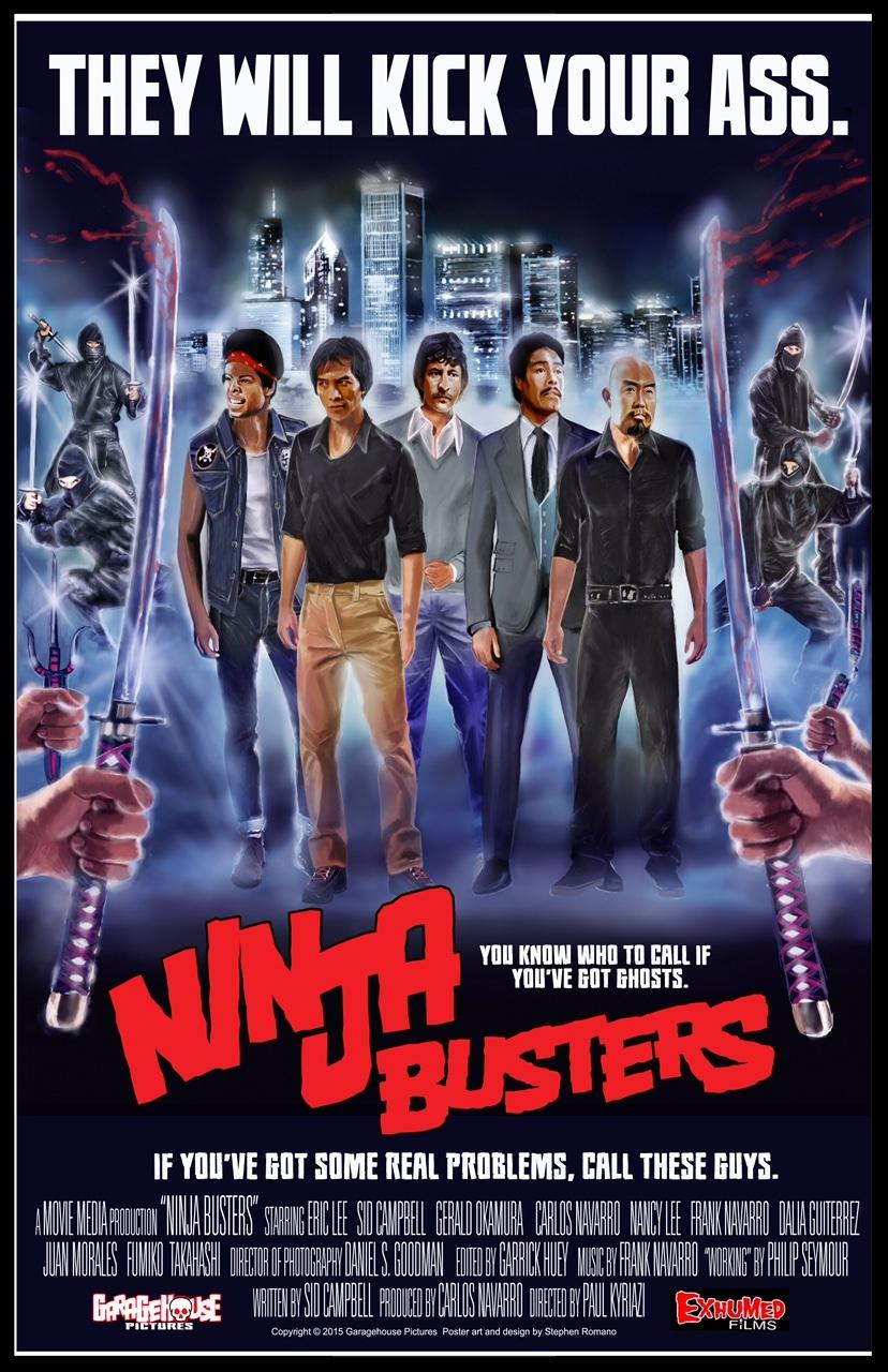 Ninja Busters Movie Poster