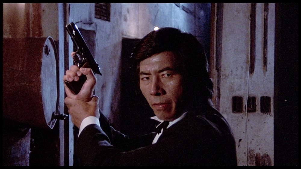 Sho Kosugi Tux Rage of Honor