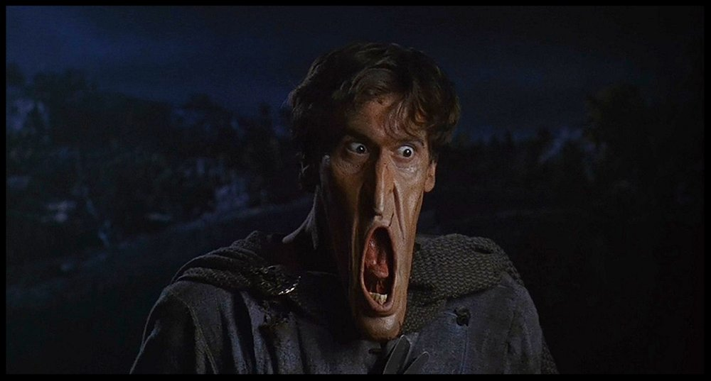 Army of Darkness Stretchy Face