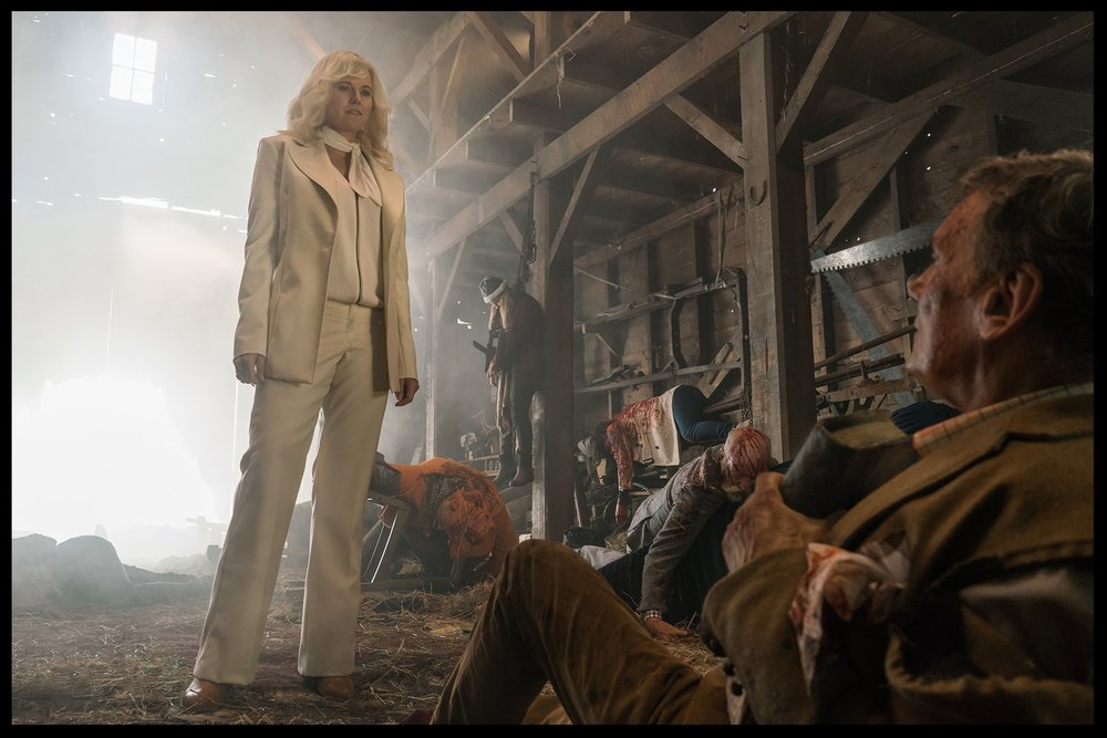 Lucy Lawless as Ruby in Ash Vs Evil Dead Season Three