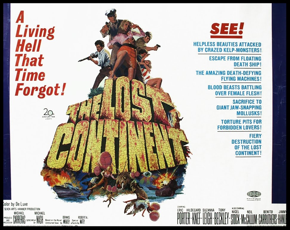 Lost Continent Hammer Movie Poster 1