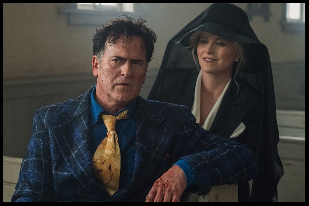 Bruce Campbell and Lucy Lawless - AVED 303