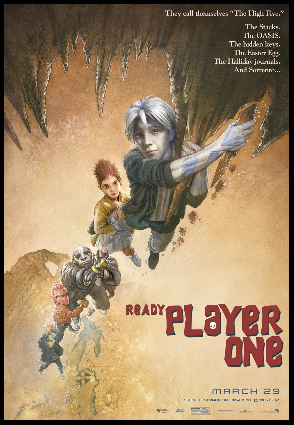 Ready Player One Goonies Poster