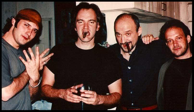 Robert Rodriguez ,  Quentin Tarantino ,  Frank Darabont  and  Scott Spiegel