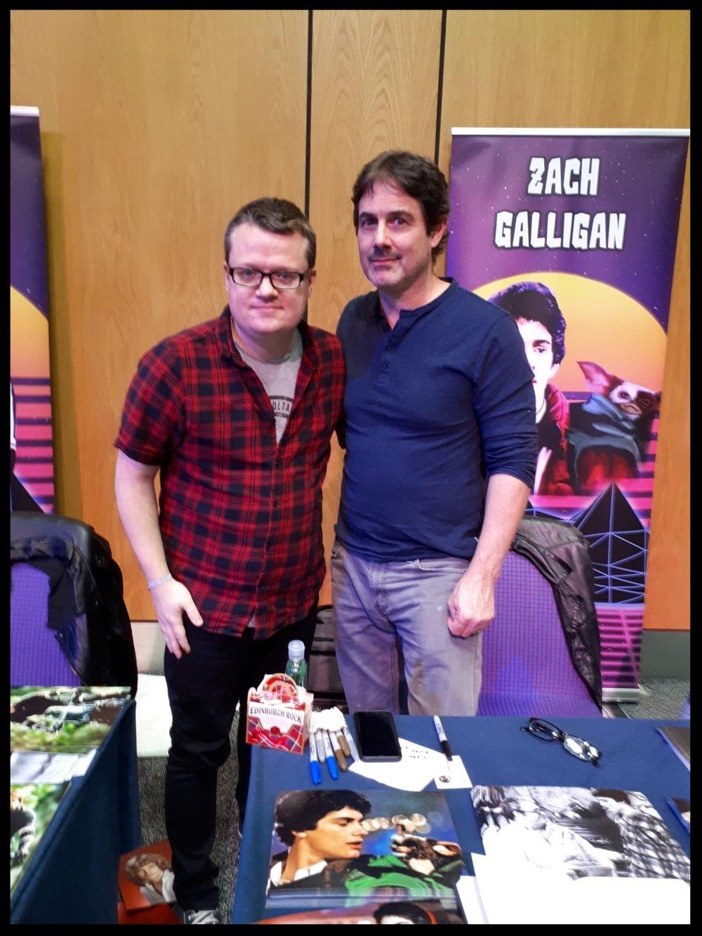 Aaron and Zach Galligan