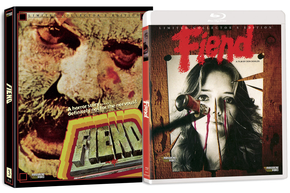 Massacre Video 's awesome, recent release of Diner favourite and Baltimore indie legend,   Don Dohler 's   Fiend