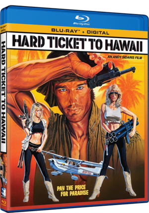 Hard Ticket To Hawaii Blu Ray