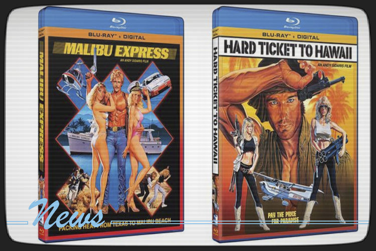 Malibu Express and Hard Ticket To Hawaii coming to Blu-ray from Mill