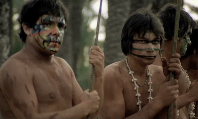 Wait, are we in the same tribe? I feel like our face paint is giving mixed messages…