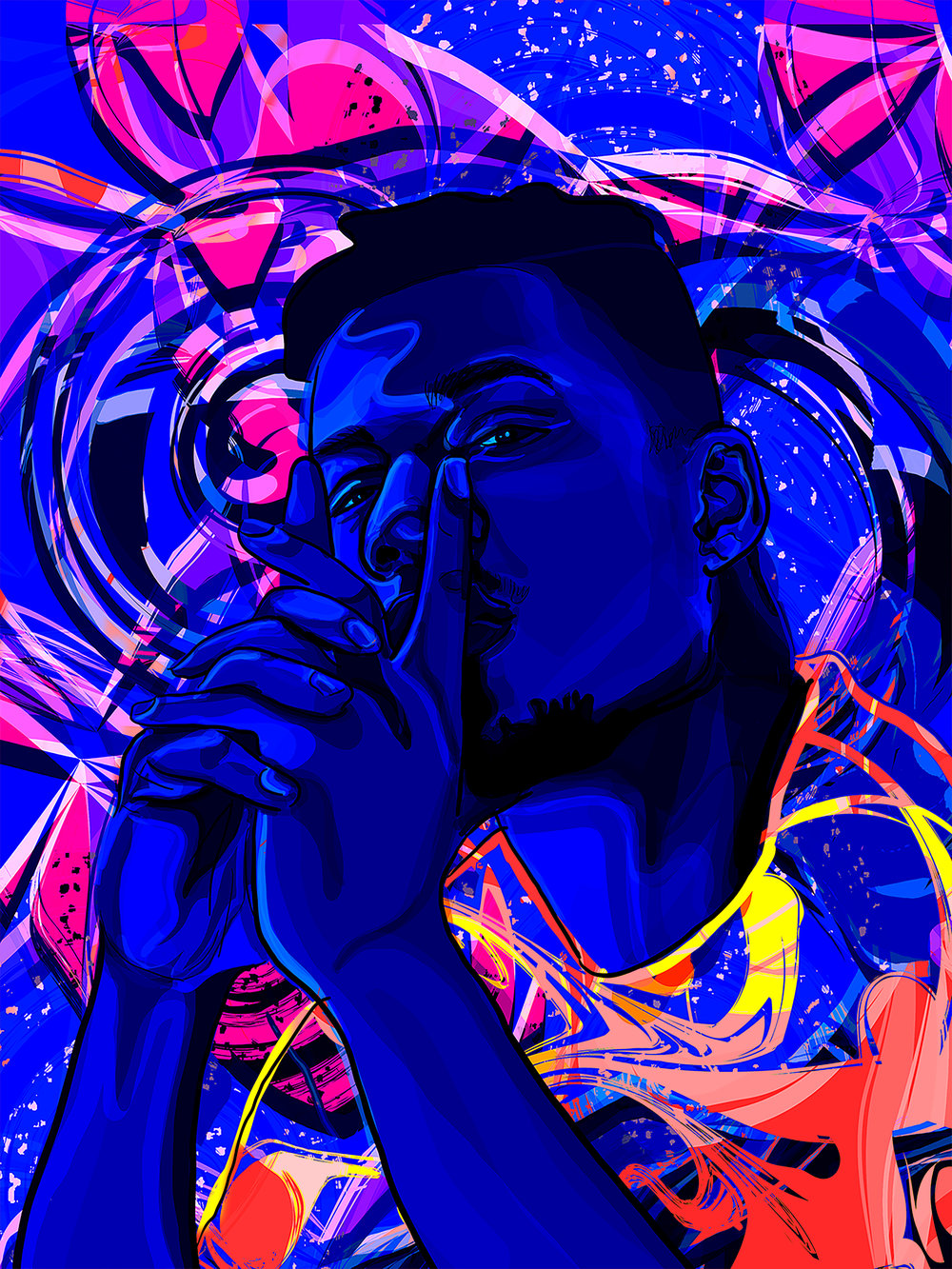 Mick Jenkins    Illustration