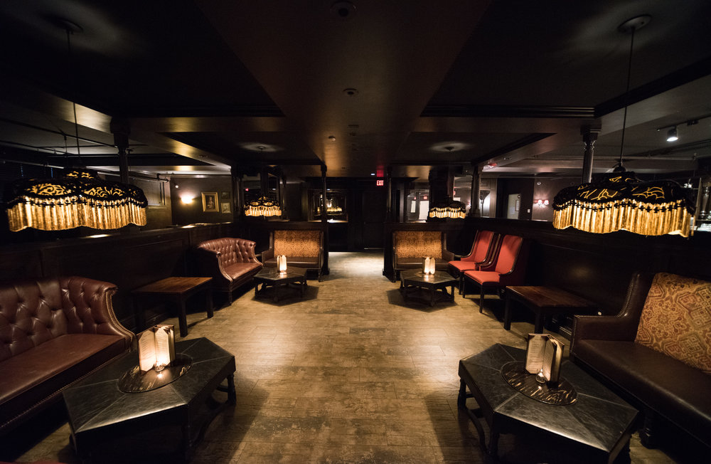 The Speakeasy's Middle Lounge