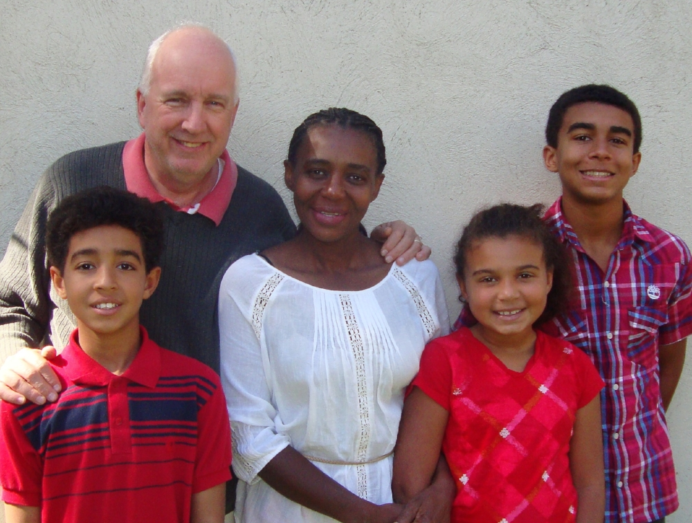 Philip, Bacilia, Manuel, Estefana & Matthew (kids left to right)