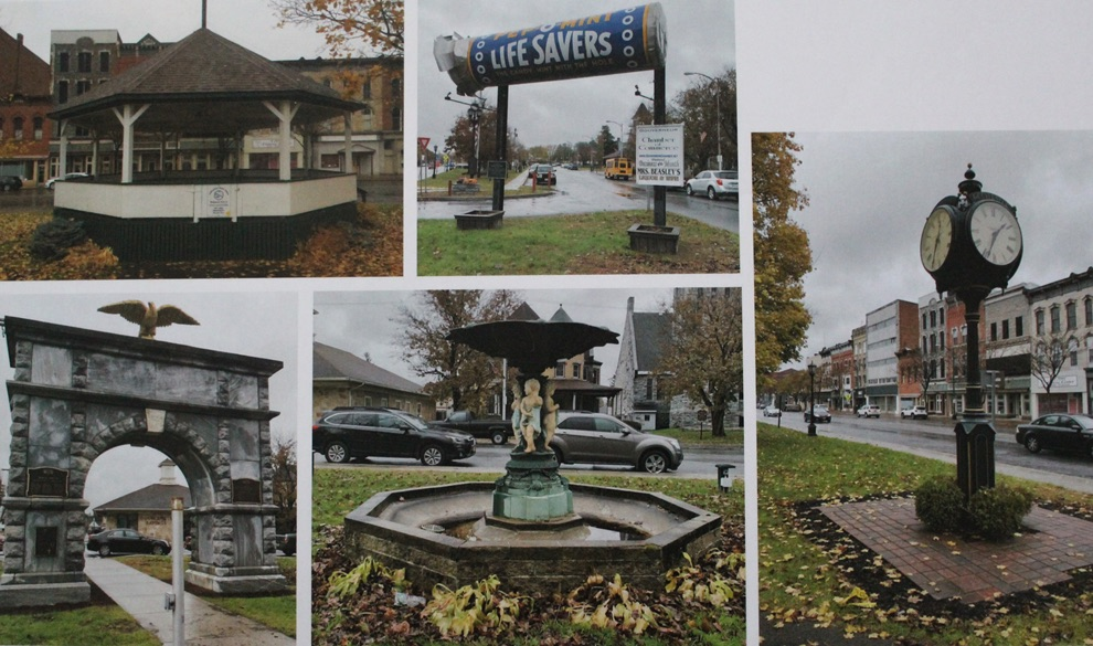A few of the improvement areas in the Gouverneur Village Park mentioned in the proposal.