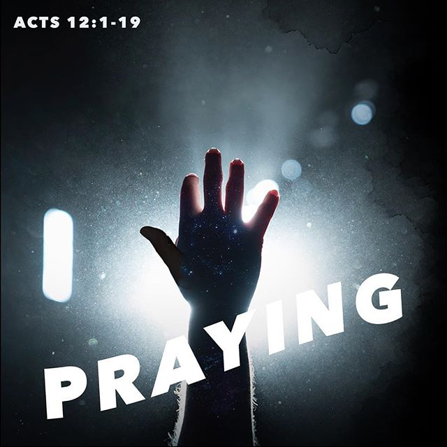 This Sunday we will be looking at Praying // Acts 12:1-19