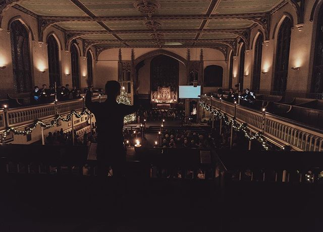 Carols by Candlelight (2/3)  We had some great performances including @icchamberchoir. 📸 : @xelxel7  #london #christmas #church #choir #music #family