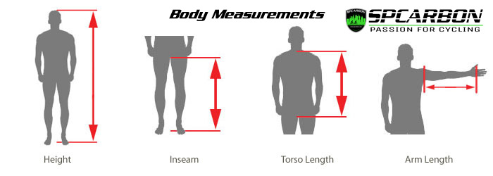 We get your measurements and make sure your new bike is a perfect fit.