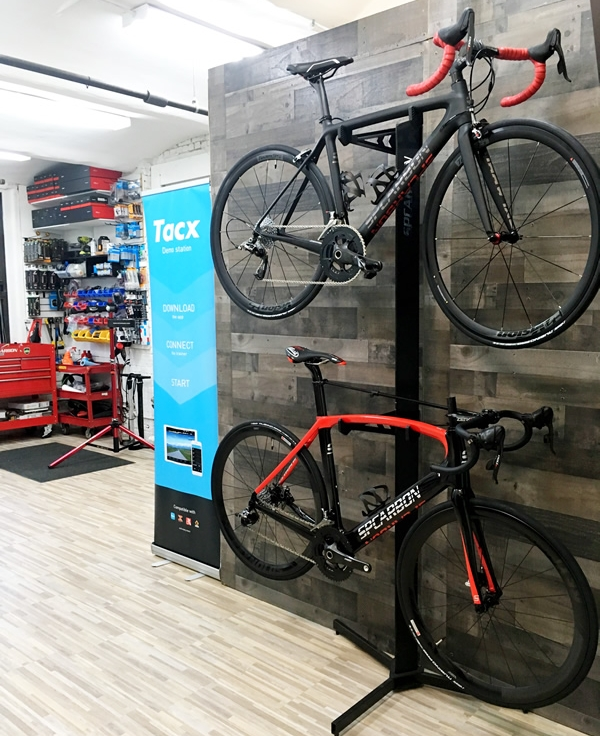 Tribeca Bicycles Showroom - Located in the Financial District, New York City.   Tribeca Bicycles handles high end bicycle sales for Ridley, Van Dessel, SPCARBON and upgrade services, all by Appointment.   Call 646.415.8947