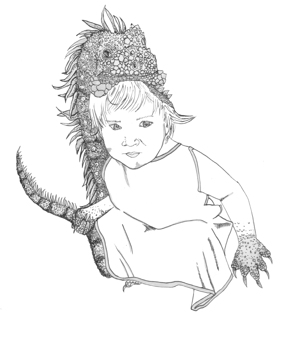 Finley the Iguana