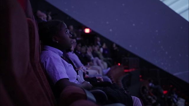 experience the wonders of space at the Jennifer Chalsty Planetarium • @libertysciencecenter
