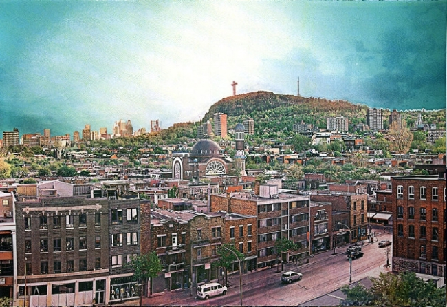 The Mile-End of Montreal