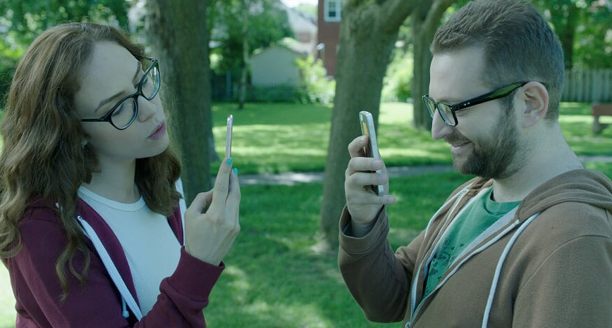 Amber Goldfarb    and    Eli Batalion    in APPINESS