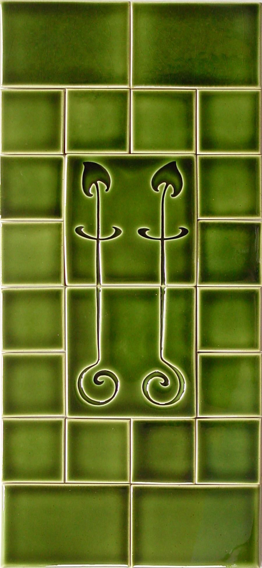 Evergreen glaze
