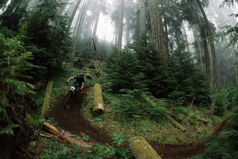 mountain bike pnw backcountry