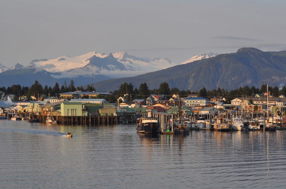 Fishing towns in Southeast Alaska