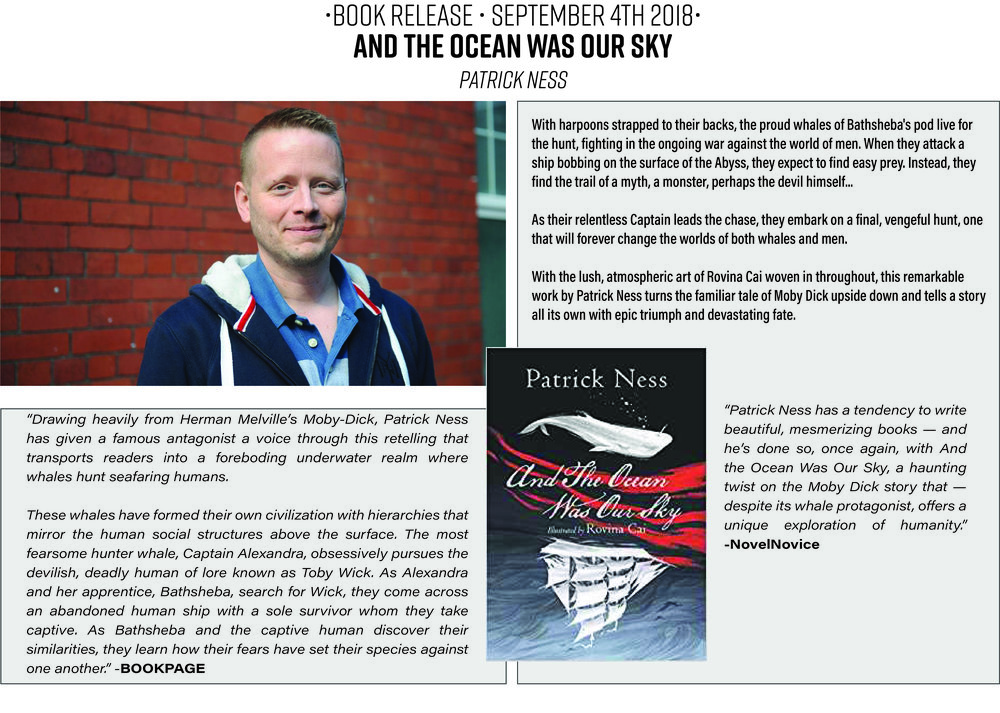 And the Ocean was Our Sky : Patrick Ness : Young Adult