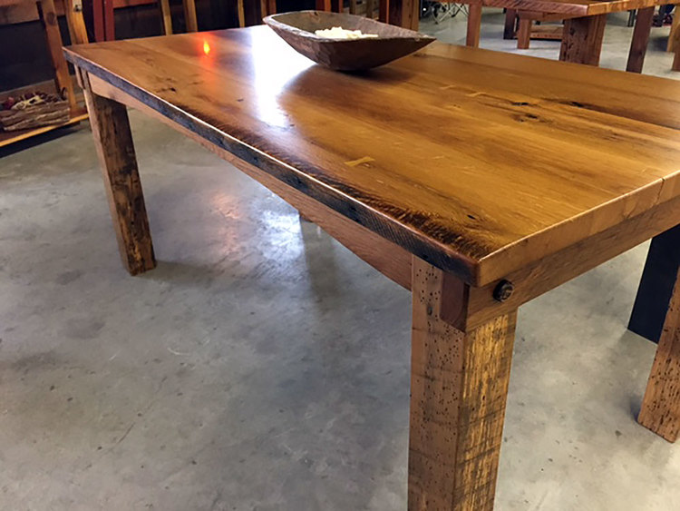 Midwest Barn Timber Co - How to make a farm table