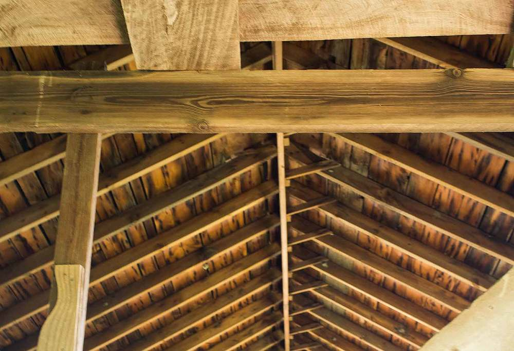 The wood used in these barns is some of the best wood in the world.