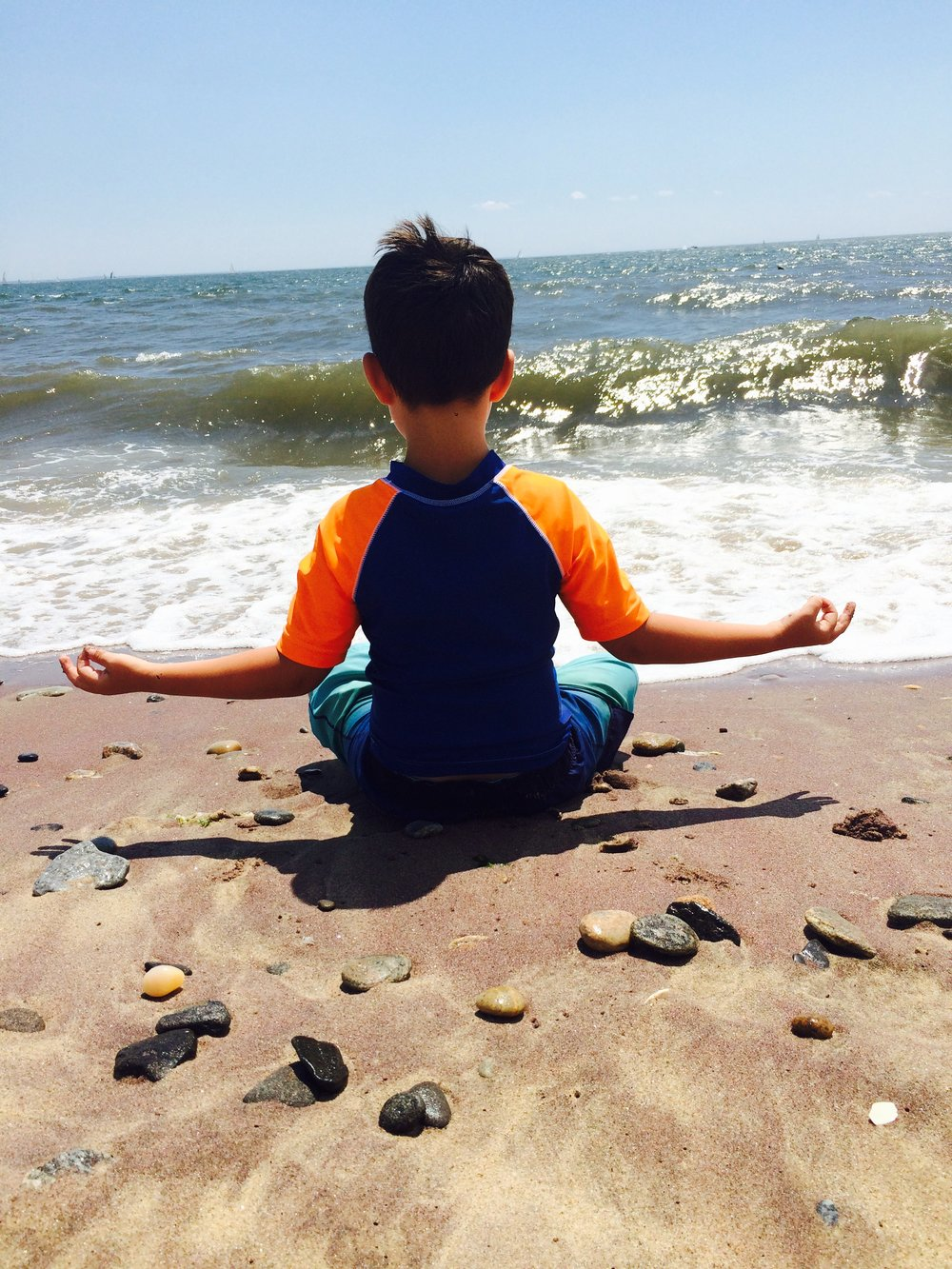 """""""If every child in the world would be taught meditation, we would eliminate violence from the world within one generation""""  -The Dalai Lama"""