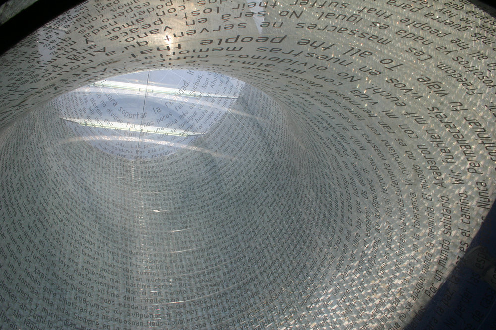 Madrid Train Bombings Monument, Atocha Building - FAM Arquitectura y Urbanismo