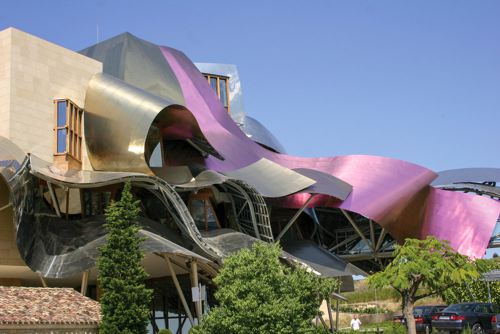 Marques de Riscal Hotel - Frank Gehry